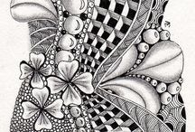 Zentangle / Mindful drawing