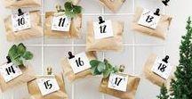 DIY: Advent / Hier gibt es Adventskalender und Adventskränze zum selber machen