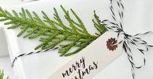 DIY: Weihnachten / Alles, was man für ein schönes Weihnachtsfest braucht: Girlanden, Anhänger, Tischdeko, Geschenkverpackungen...