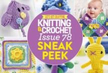 Issue 78 of LGC Knitting & Crochet magazine / Issue 78 of LGC Knitting & Crochet magazine, on sale from 22nd January to 3rd March 2016 comes with a gorgeous Bluebell yarn pack. Look forward to spring flowers and warmer days with our fresh colours! Use your bonus pom-pom as a nose for our friendly canine, spoil babies with their very own mermaid tail or make something beautiful for Mother's Day. We're also exploring the wacky world of knitting for your pets. Don't miss out!