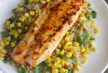 Fish and seafood / Recipes to help me reach my goal of eating more fish and seafood.