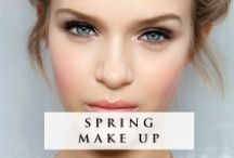 Spring Make Up / Put a spring in your step with these perfectly pretty make up looks!