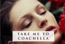 Take Me To Coachella / Think boho beauty, bronzed skin and textured brows...