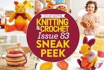 Issue 83 of LGC Knitting & Crochet / Issue 83 of LGC Knitting & Crochet magazine, on sale from 22nd July to 26th August 2016, comes with a beautiful Juliet yarn kit. Inspired by the beautiful shades of an Indian summer, our colour pack features a beautiful ombre yarn for you to try. There's a whole host of gorgeous critters to create, including an otter, a kangaroo and a little goldfish. Try out tapestry crochet with our ingenious pattern or make an amazing granny square ball.