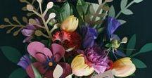 Sag's durch die Papierblume / DIY Papierblumen - Girlanden, Sträuße, Wanddeko, Partydeko und Kränze