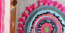 DIY Wohnaccessoires / Von der Uhr zum Teppich findet ihr hier DIY Ideen, die das Wohnen ein wenig schöner machen.