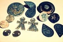 Joyas de mi taller / Joyas de plata hechas por mí.