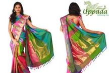 Uppada Sarees / They areUppada Sarees diaphanoussilk sarees. Uppada sarees in hyderabad, traditional Sarees. Infusing new life into the warp and weft are fashion designers from the state who have been able to give traditional Andhra textiles a contemporary twist to make them a part of modern design aesthetics and quality.This Saree Worn at Wedding, Parties, Festivals, Functions.
