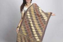 Dupattas / We are the India's finest manufacturer of sarees.  We also have fabrics, Ikat Dresses,  Dupattas,  Uppada , Paithani , Khadi , Kalamkari  and Kanchipuram Sarees. www.uppada.com