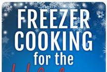 Freezer Cooking: Frugal Freezer Foods