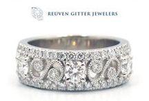 Rings / Engagement Rings, Diamond Fashion, Semi Mounts, Diamond Bands, Metal Bands (Rings), Colored Stones