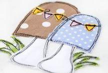 KerstinBremer.de Doodle ♥ Stickdateien / Doodle Applikation Stickdateien von www.KerstinBremer.de ♥