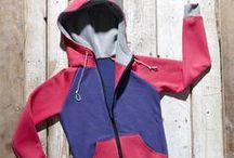Hoodies, jumpers and pullover-dresses / Colorful hoodies, jumpers and pullover dresses by Bosis.