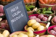 Cutting the Grocery Bill / Frugal ways to reduce your food budget and save money every time you visit the grocery store.