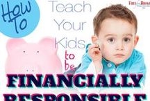 Teaching Kids about Money / Money management skills are some of the most important lessons you can pass on to your kids. Here you will find plenty of tips, tricks and methods for providing your children with some money smarts.