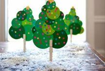 Kerst inspiratie / Allerlei moois, leuks en lekkers voor de mooiste tijd van het jaar, ook om heerlijk te knutselen!