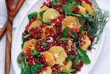 World of Recipes: Sides + Salads / Sides and salads, primarily vegetable-based