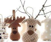 Winter ♥ Stickdateien / Applikationen, Doodle, Füllstich und ITH Stickdateien für den Winter und Weihnachten