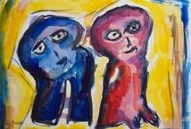 My work: Watercolors