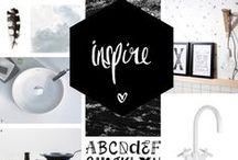 Inspiration Moodboards / Moodboards ter inspiratie met producten van onze klanten
