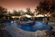 New Projects / This board contains our most recent pool & landscaping projects.