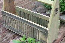 Old Doors & Shutters / by Hammack's Wood-N-Cloth Crafts