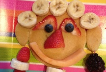 Our Own Attempt at Fun Food Crafts / by Nancy Blondin