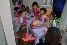 One of our many Dora Parties / by Nancy Blondin