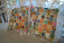 Vintage Pillows / by Hammack's Wood-N-Cloth Crafts