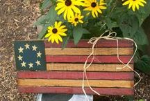 AMERICANA STUFF / by Hammack's Wood-N-Cloth Crafts
