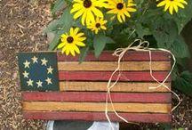 AMERICANA STUFF / by Hammack's Wood-N-Cloth Crafts