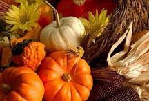 FALL, AUTUMN & THANKSGIVING   / by Hammack's Wood-N-Cloth Crafts