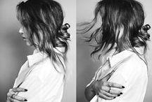 b r a i d s & b u n s / embrace messy hair