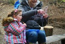 Forest School / Forest School activities at Bodenham Arboretum