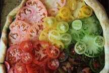Happy recipes / Yellow/orange/red/green food