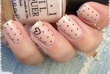 Nude nails / Nails, polish maniqure