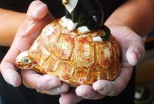 CERAMICS  BELL / This ceramics bell rinngs pretty tone. Artist:  Ari Kurihara    (japanese)