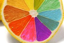 Rainbows / Rainbow colors
