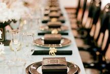An Art Deco Corporate Event / Everything & anything to inspire a glamorous art deco work party.