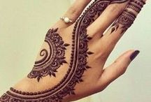 HENNA / Henna tattooing