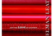 For the LOVE of RED / Color inspiration / by Edelman Leather