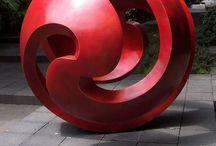 Abstract Sculptures,  Statues and Design / Absztrakt , szobrok és plasztikák kreatív módon