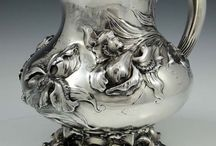 SILVER Art Gallery / Ezüst tárgyak, művészi formák
