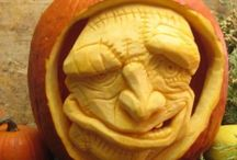 PUMPKIN Heads and cartoons, Sculptures, carvings / Tökfejek és karikatúrák