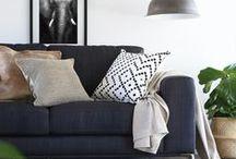 Cushions @ Bushel & a Peck / cushions in store