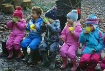 Outdoor Family Forest School Events / Events and activities for families at Bodenham Arboretum