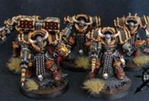 Iron Warriors / Iron Warriors chaos & pre heresy minis
