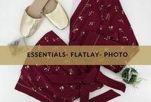Essentials -Flatlay photo-