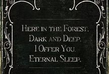 Gothic  / Dark inspiration