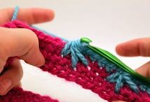 DIY - - Crocheting - Stitshing - Weaving / by Tuula Taavo